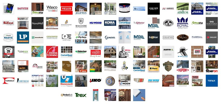 Building product literature from the industries leading product manufacturers, for residential contractors.